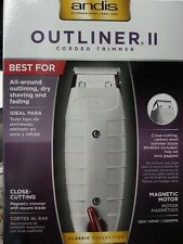 Andis Outliner II  Professional Trimmer Barber Hair cut 04603  Salon * New Box *