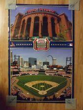 MLB Baseball Poster St. Louis Busch Stadium - Cardinals