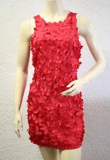 BCBGirls Maxazria Red Berry Heart Cocktail Dress Sz. 10
