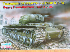 Eastern Express 1:35 KV-8S Flamethrower Soviet Heavy Tank Model Kit