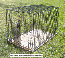 """Dog Crate - Large Folding Dog Crate D803  (L36"""" x W23"""" x H26"""") -  FREE SHIPPING"""