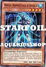 Yu-Gi-Oh Ninja Armatura di D'acqua Italiano STARFOIL SP13-IT017 Aqua Armor Forte