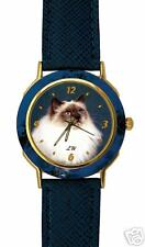 Montre  Chat SACRE DE BIRMANIE - Watch with BIRMAN CAT