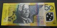 1998 Australia  $50 MacFarlane / Evans  FIRST PREFIX AA98 Note UNCIRCULATED