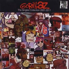 GORILLAZ THE SINGLES COLLECTION 2001-2011 (BEST OF / GREATEST HITS)