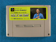 Jumbo Ozaki's Hole in One Golf (Nintendo Super Famicom SNES SFC, 1991) Japan
