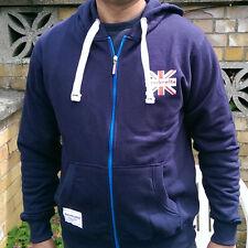 Brand new Navy LAMBRETTA Hooded sweatshirt TRACKSUIT TOP size XXXL