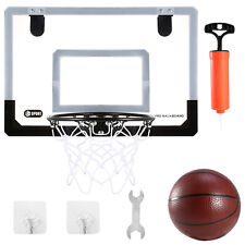 Us Indoor Basketball Hoop Backboard System Home Office Room Hoop w/ Ball &Pump