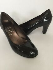 AGL Black Patent Leather Classic High Heel Pumps Size 40, 10