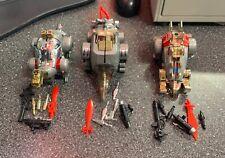 Vintage G1 Transformers Dinobots Slag, Snarl & Sludge Lot