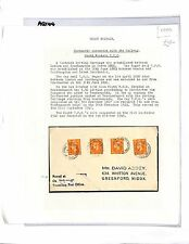 AQ144 1956 GB South Western TPO Postmarks on Cover