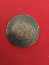 España 10 diez centimos 1870