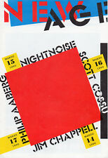 "NIGHTNOISE - PHILIP AABERG - COSSU - CHAPPELL ""NEW AGE MUSIC"" SEVILLE PROGRAMME"