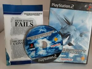 Sony PlayStation 2 PS2  Ace Combat Distant Thunder Game 2001