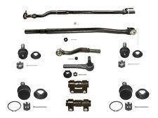 10 Piece Tie Rod  Ball Joint Kit fits 1999-2005 Ford Super Duty +more(See Chart)