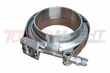 """v-banda Fascette Set per 70 mm tubo 2,75 """" acciaio inox con chiusura rapida"""