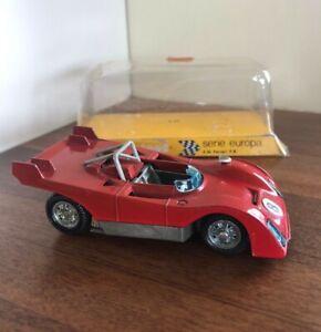 MATTEL MEBELTOYS SERIE EUROPA FERRARI A 56 P.B. MODEL CAR 1:43 RED (Vintage)