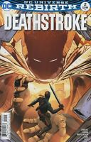 DeathStroke  #2 Rebirth DC Comics NM 1st Print 2016 ships t-folder