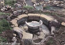 # BARUMINI: VILLAGGIO NURAGICO (particolare di una capanna)