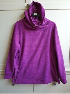 Ladies Regatta Size UK 22 Purple Hoodie Hooded Sweatshirt Top