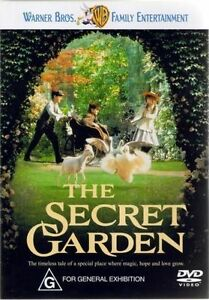 The Secret Garden DVD Kids Fantasy Movie G Rated - REGION 4 AUST