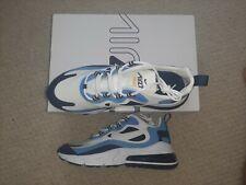 Nike Air Max 270 React Element 55 Blue & White BNIB UK Mens Size 8 RRP £140