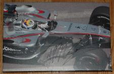 Juan-Pablo Montoya Signed 10X15 inches 2006 Monaco GP F1 Canvas