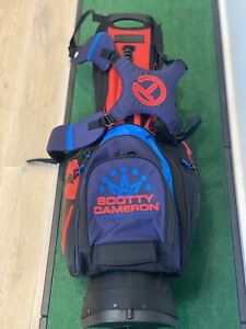 Scotty Cameron US Open 2020 Black Red Blue Pathfinder CT Circle T Stand Bag