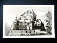 Chateau Frontenac Real Photo Postcard - Quebec City - Canada - Unused