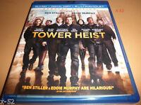 TOWER HEIST blu-ray BEN STILLER eddie murphy ALAN ALDA casey affleck MCHAEL PENA