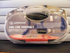 Attwood Mercury Pre '98 Fuel Line Kit (w/ Fittings) – 6'