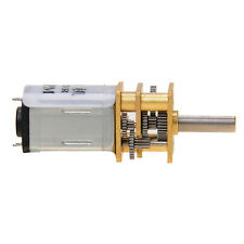 60RPM 6V 0.02A High Torque Mini Electric DC Motor Geared Motor 2mm Shaft