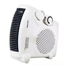 Ventilador Calefactor Ajustes de Calor Fresco Golpe Termostato Eléctrico Plano Cálidas Invierno Caliente rápido