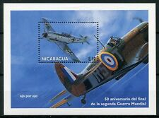Nicaragua 1995 MNH WWII WW2 VE Day 50th End World War II 1v S/S Aviation Stamps