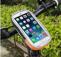 Sport Cycling Bike Bicycle Front Top Frame Pannier Mobile phone Bag Holder Q