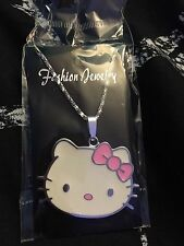 Hello Kitty Full Face Medallion Style Necklace