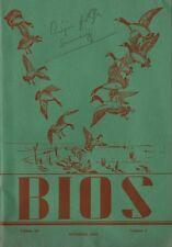 Oct 1944 Publication of Beta Beta Beta Biological Fraternity at Mount Vernon IA