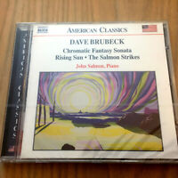 Dave Brubeck – Chromatic Fantasy Sonata/Rising Sun/The Salmon Strikes NEW CD