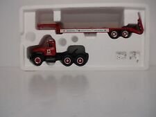First Gear 1957 International With Lowboy Trailer 1/34 New in Box #3063