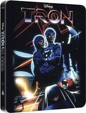 TRON Zavvi Exclusive Limited Edition UK Steelbook Blu-ray Brand New and Sealed+