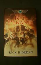 The Red Pyramid by Rick Riordan (2010, HC/DJ) First Edition, First Print.