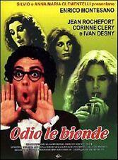 Dvd ODIO LE BIONDE Enrico Montesano - (1980) BOX Cartonato ......NUOVO
