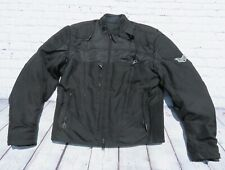 Harley Davidson FXRG Vented Motorcycle Riding Jacket W/ Waterproof Liner Medium