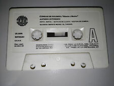 ALFREDO GUTIERREZ CUMBIAS OF COLOMBIA CINTA TAPE CASSETTE 1981 WITHOUT BOX