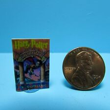 Dollhouse Miniature Replica of Harry Potter and the Sourcers Stone ~ B141