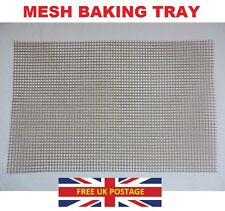 Oven Roasting Baking Silicone Mesh Tray Perfect All Round Crispy Roasted Chips