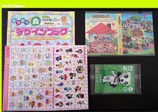 New amiibo card CP KK K.K. +  album + seal + design book Animal crossing Japan