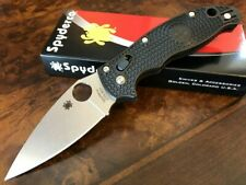 Spyderco Knife Manix 2 Black FRCP Handle CTS-BD1 Blade C101PBK2