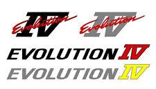 Mitsubishi Evolution 4 IV Decal Sticker Kit, Lancer, Evo Varios Colores