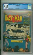 Batman #48 CGC 4.5 Penguin App 1948